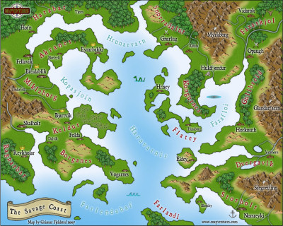 Profantasy software search the profantasy map library map the savage coast gumiabroncs Images
